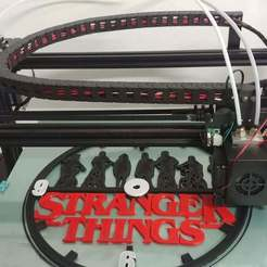 20200118_170615.jpg Download STL file Stranger Things Clock • 3D print object, workale