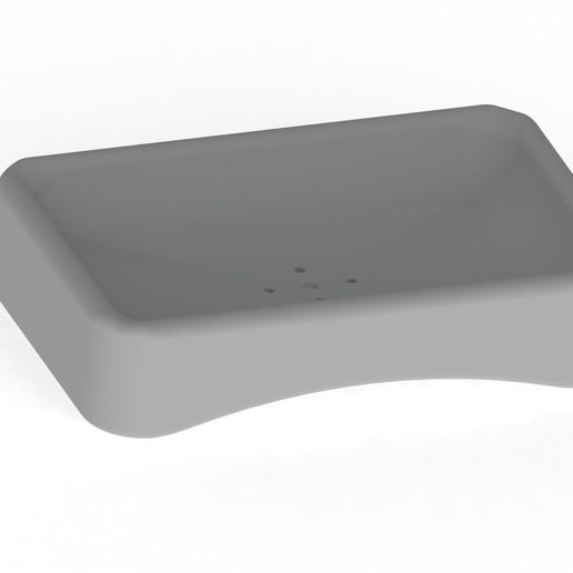 Télécharger fichier imprimante 3D Soap dish - Porte savon, bykoozzj