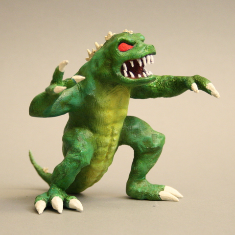 Download free 3D printer templates Gigazaur - King of Tokyo, firebird