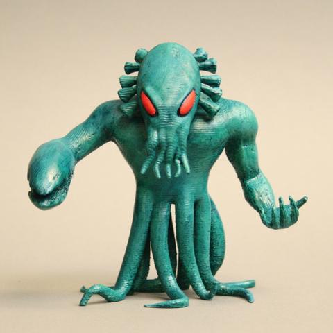 Free STL file Kraken - King of Tokyo, firebird