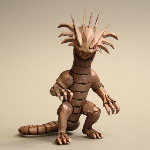 Download free 3D print files Meka Dragon - King of Tokyo, firebird