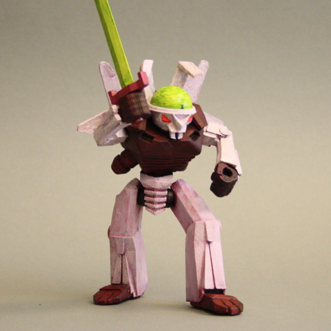 Download free 3D printer files Cyber Bunny - King of Tokyo, firebird