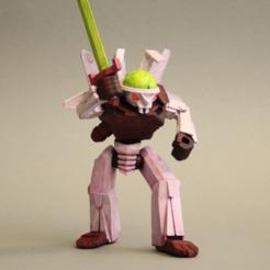 Descargar archivo 3D gratis Cyber Bunny - Rey de Tokio, firebird