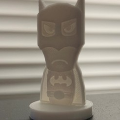 Free STL Simple Mini DC Batman, CptMoses