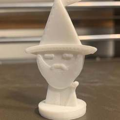 Descargar modelos 3D gratis Simple Mini D&D Wizard, CptMoses