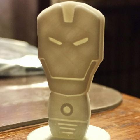 Free Simple Mini Marvel Iron Man 3D printer file, CptMoses