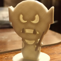Download free 3D printing files  Simple Mini D&D Orc with Sword, CptMoses