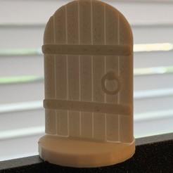 Round_Top_Door.jpg Télécharger fichier STL gratuit Porte simple Mini D&D à toit rond • Design pour imprimante 3D, SimpleMiniatures