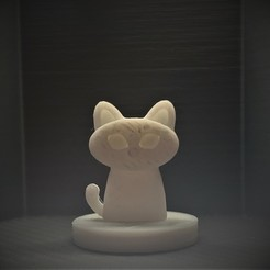 Download free 3D printer templates Simple Mini D&D Cat, CptMoses