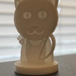 Imprimir en 3D gratis Simple Mini D&D Tabaxi Ranger con Arco Largo (Solicitar), CptMoses