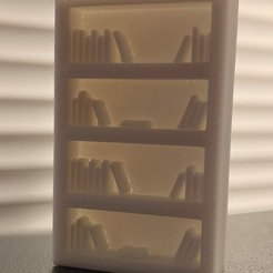 1853cb548ee71e5250e7761f54bbbe46_display_large.jpg Download free STL file Simple Mini D&D Tall Bookshelf • Object to 3D print, SimpleMiniatures