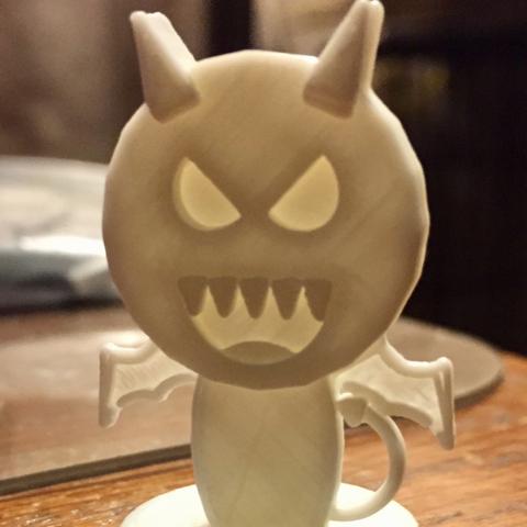Free Simple Mini D&D Devil / Imp 3D model, CptMoses