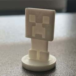 Minecraft_Creeper.jpg Télécharger fichier STL gratuit Mini-Minecraft Creeper simple • Modèle à imprimer en 3D, SimpleMiniatures