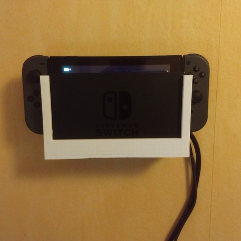Télécharger fichier STL gratuit Support Mural Dock Nintendo Switch, jacha46