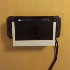 Free stl file Wall Mount Dock Nintendo Switch, jacha46