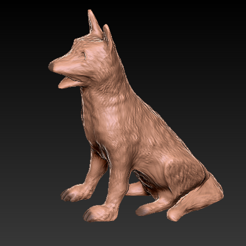 Download free STL file Dog • 3D printing model, grogro