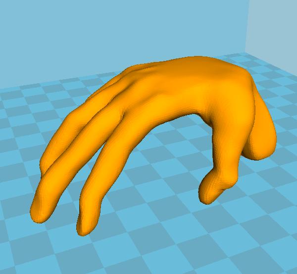 MAIN.PNG Télécharger fichier STL gratuit La main - table • Design à imprimer en 3D, grogro