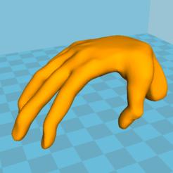 Descargar archivos 3D gratis La mano - mesa, grogro