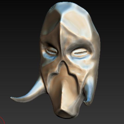 Free 3D print files skyrim helmet, grogro