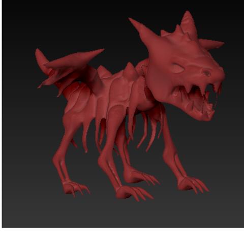 dragon sq 1.PNG Download free STL file Skeleton Dragon • 3D printing template, grogro