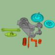 Télécharger fichier STL gratuit Engrenages à ralentissement • Modèle pour impression 3D, grogro
