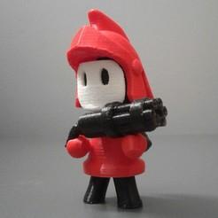 Download free 3D printer templates soldier tactil war, grogro