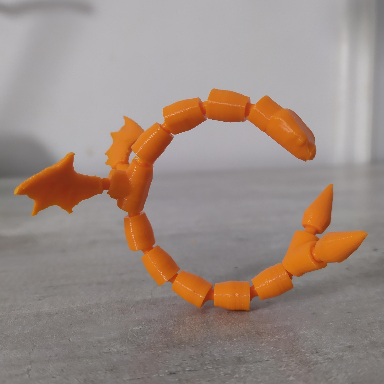 IMG_20200328_104952.jpg Télécharger fichier STL gratuit Serpent articulé • Modèle pour imprimante 3D, grogro
