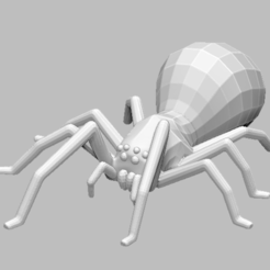 Download free 3D printing designs Spider, grogro