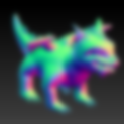 Download free 3D printer files The dragon, grogro