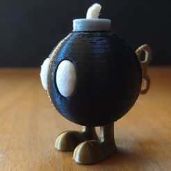 Download free 3D printing models Bob-omb, grogro