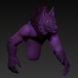 Download free STL file Werewolf • 3D printable model, grogro