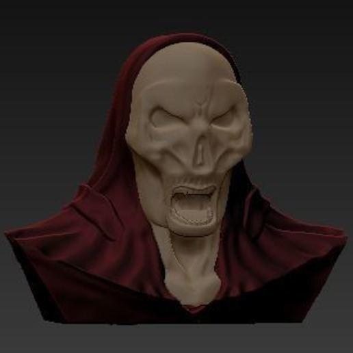 Download free 3D printer designs Skeleton lamp, grogro