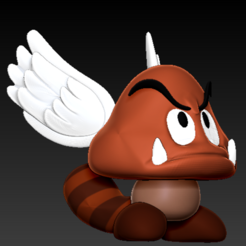 Download free 3D printing files The goomba, grogro