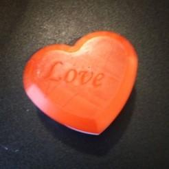 Télécharger fichier imprimante 3D gratuit Boîte Coeur, rfbat