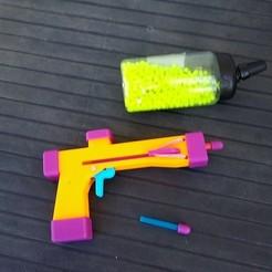 Impresiones 3D Pistola de bola de flecha, rfbat