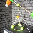 Download free 3D printing designs desk lamp, rfbat