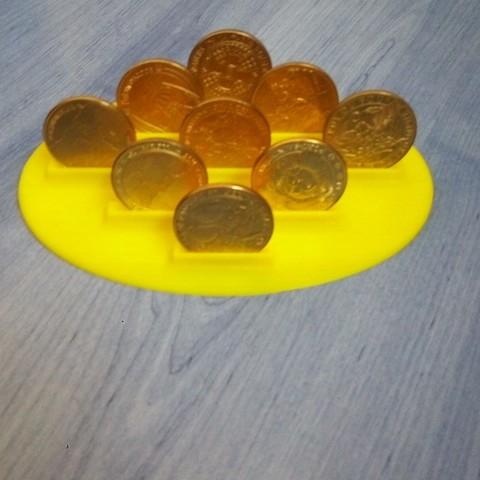 Download free 3D printer templates Coin display unit, rfbat