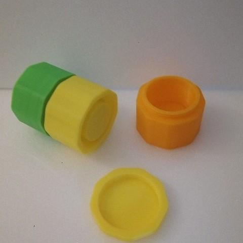 Download free 3D printing designs Stackable boxes, rfbat