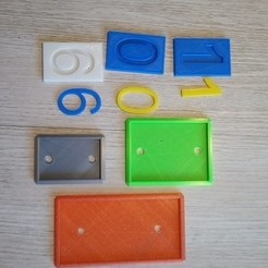P_20200314_180812.jpg Download STL file Street number plate • 3D printable object, rfbat