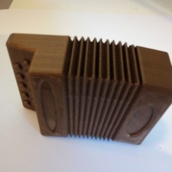 Free 3D printer model accordion, rfbat