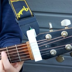 Download free STL Clip Strap for guitar, rfbat