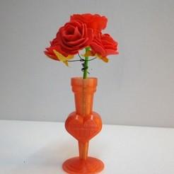 Télécharger objet 3D Coeur vase, rfbat