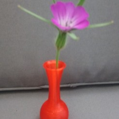 Download free STL files Gooseneck vase, rfbat
