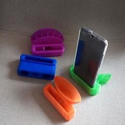Télécharger fichier imprimante 3D Ampli Support smartphone, rfbat