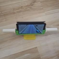 Free 3D printer model Smart phone support controller, rfbat