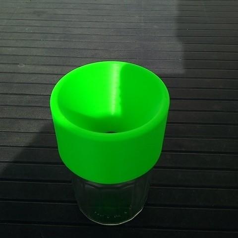 Free 3D printer model wasp trap, rfbat