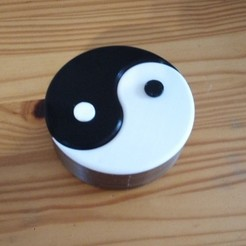 Download free 3D model Yin Yang Box, rfbat