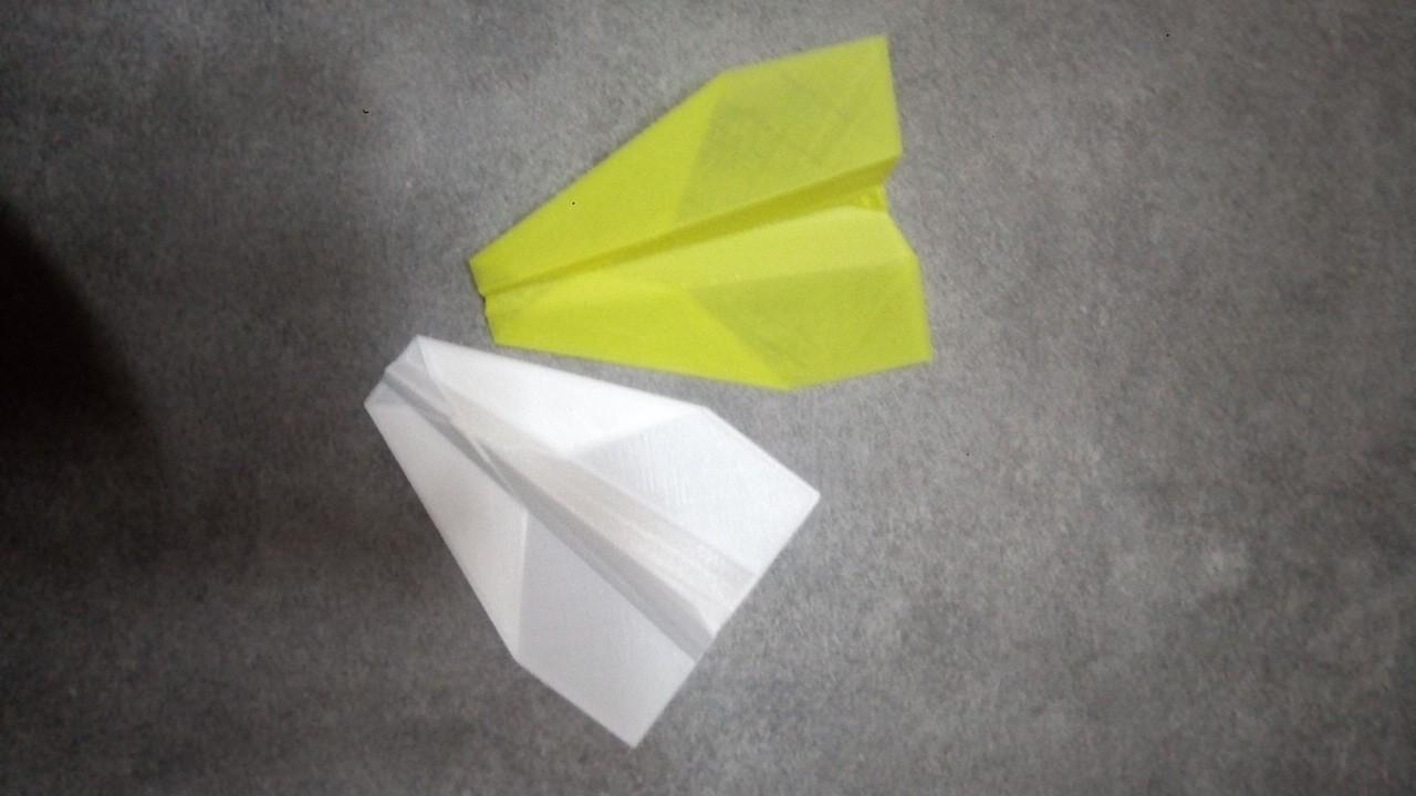 P_20190311_210624.jpg Télécharger fichier STL gratuit Avion en papier • Modèle pour imprimante 3D, rfbat