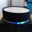 Free 3D printer designs Knurled knob shell, spch
