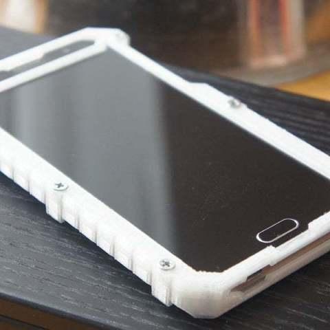 Download free STL Alcatel One Touch POP 4S (5095K) hard case, spch
